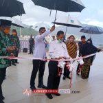 Kunker Menkopolhukam dan Mendagri di Anambas Resmikan Masjid Agung Baitul Ma'mur