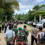 Polres Anambas Sejumlah Instansi Lakukan Pengamanan Kunker Mendagri dan Menkopolhukam