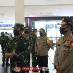 Kapolri dan Panglima TNI Lakukan Kunker di Rumah Sakit Khusus Infeksi di Galang