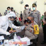 Sambut HUT Bhayangkara Ke 74 Tahun Kapolda Sumut Ikut Berpartisipasi Donorkan Darah Guna Bantu Sesama