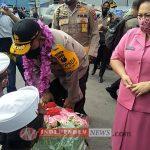Masyakarat Karo Sambut Kunjungaan Kerja Kapolda Sumut Bersama Ketua Bhayangkari sumut