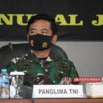 PANGLIMA TNI DAN KAPOLRI PIMPIN RAPAT TERKAIT PENANGANAN COVID - 19 DI JAWA TIMUR