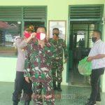 Silaturrahmi dan Peningkatan Sinergitas TNI-Polri, Danramil 02/Bintim Sambut Kunjungan Kapolsek Bintim di Makoramil 02 Bintim