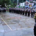 Polres KKA Gelar Bhakti Sosial Pembagian Sembako Serentak Se-Indonesia, Dalam Rangka Hari Bhayangkara Ke 74 Tahun