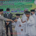 Wabup Lingga lakukan peletakan batu pertama Pembangunan Kampung Qur'an Singkep pesisir