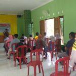 Polsek Singkep Barat Lakukan Pengamanan Bimtek Panita Pemilihan Kecamatan