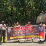 Polres Kepulauan Anambas Melaksanakan Kegiatan Sosialisasi Stop Karhutla