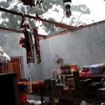 Hujan Disertai Angin Kencang Satu Unit Rumah Rusak Parah di Desa Tarempa Selatan