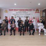 Plt Gubernur Isdianto Hadiri Upacara Hari Bhayangkara Ke 74 di Mapolda Kepri