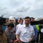 Kunjungan Menko Kemaritiman dan Investasi RI Luhut Disambut Danlantamal IV Tanjungpinang