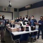 Bea Cukai Kepri Tangkap Ribuan Handphone Ilegal di Perairan Karimun