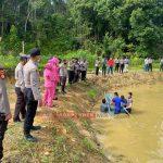 Polres KKA Gelar Panen Raya D Bidang Budidaya Ikan Air Tawar