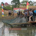 Polres Bintan Gelar Panen Raya Budidaya Ikan Air Tawar dan Pertanian Jagung