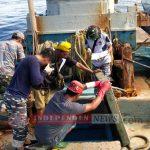 Lanal Ranai Terima Kapal Vietnam Hasil Tangkapan KRI Yos Sudarso 353