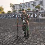 Aspers Danlantamal IV  Ajak Prajurit dan PNS Lantamal IV  Tetap Disiplin Lakukan Protokol Kesehatan