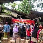 Rangka Hut ke 72 Polisi Wanita, Jajaran Polwan Polda Kepri Lakukan Kegiatan Bhakti Sosial