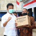 Kepala BP Batam Serahkan Bantuan Paket Sembako di Kecamatan Sekupang