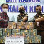 Tim Eksekutor Seksi Tindak Pidana Khusus Kejaksaan Negeri Pelalawan Berhasil Selamatkan Uang Negara