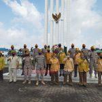 LVRI Kota Batam Bersama Expeacekeeper Polri Polda Kepri dan PD PPM Kepri Rayakan Hari Veteran Nasional di TMP Bulang Gebang
