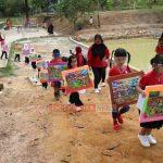 Jelang HUT RI ke-75, Sanggar Seni Trendy Club Gelar Carnaval di Taman Rusa Sekupang