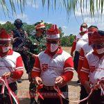 Kapolda Kalteng Resmikan Posko Ketahanan Pangan