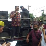 Ratusan Warga Gelar Aksi Demo, Desak Pemko Medan Perbaiki Jalan Pancing, Timbulkan Keresahan Masyarakat