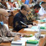 BP Batam Bahas RAK 2021 Dengan Komisi VI DPR RI