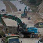 Disinyalir Berkonsfirasi, Oknum Kades Tandem Hilir 1 dan Oknum Karyawan PTPN 2  Bangun 2 Kandang Lembu di Jalur Kordinat Jalan Tol Binjai-Langsa