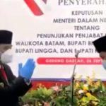 Pilkada Wilayah Kepri, Menteri Dalam Negeri Hunjuk Pjs Gubernur, Bupati dan Walikota, Ini Nama-namanya