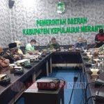 Komisi I DPRD Riau Adakan Kunjungan Kerja Ke Pemkab Meranti