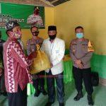 DPW Bakomubin Sumut Bagikan Paket Sembako Kepada Bilal Mayit