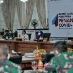Pjs Wali Kota Ikuti Rapat Dengan Kepala BNPB Atasi Covid-19