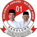 Relawan Pendukung Jokowi-Ma'ruf Amin Kecamatan Sagulung, Siap Menangkan Pasangan Isdianto-Suryani