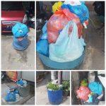 Menimbulkan Bau Busuk, Warga Putri Tujuh Keluhkan Tumpukan Sampah Yang Sudah Lama Tidak Terangkut