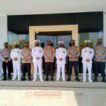 Kapolda Kepri Hadiri Ipar Virtual HUT TNI ke 75