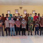 Kapolsek Siantan Dampingi Pjs Bupati Anambas Pantau Kesiapan Pilkada di Kecamatan Siantan