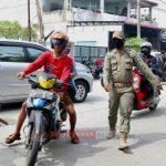 59 Warga Terjaring Operasi Yustisi Razia Masker Di Medan Helvetia