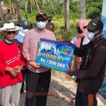 Pjs Bupati Lingga Kunker ke Pulau Serak Marok Tua Sekaligus Tutup Festival Fishing