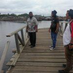 Jembatan Desa Marok Tua Putus Diterjang Badai, Aktivitas Masyarakat Terganggu