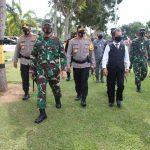 Komandan Korem 033/WP Hadiri Gelar Pasukan Kesiapsiagaan Hadapi Bencana Alam di Kepri