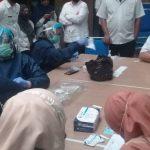 Dinas Kesehatan Kota Cimahi Lakukan Rapid Test Kepada 10 Orang THL, 1 Orang Reaktif Diisolasi Mandiri