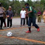 Hari Pahlawan, Desa Langkap Gelar Pertandingan Sepak Bola