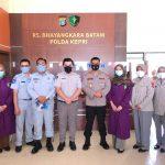 Ditlantas Polda Kepri Gelar Baksos di Rumah Sakit Bhayangkara Polda Kepri