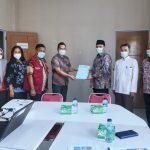 Pertemuan Anggota DPD RI Ria Saptarika Dengan Kadinkes Kota Batam : Tren Penularan Covid di Batam Masih Tinggi