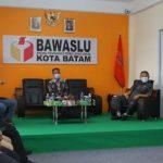 Komisi I DPRD Kepri Sambangi Bawaslu Batam