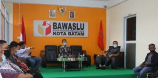 Komisi I DPRD Kepri di Kantor Bawaslu Kota Batam