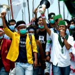 Aksi Unjuk Rasa Tak Ditanggapi Dewan, Pimpinan Mahasiswa Kepri Sampaikan Mosi Tidak Percaya Kepada DPRD Kepri