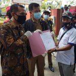Wahyu Wahyudin Anggota DPRD Kepri Berjanji Akan Sampaikan Aspirasi Buruh Kepada Pemerintah Pusat