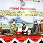 Pjs Gubernur Kepri Sampaikan Rancangan KUA-PPAS APBD Tahun Anggaran 2021
