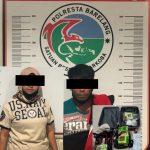 Dit Polairud Polda Kepri Tangkap Dua Orang Pembawa Narkoba